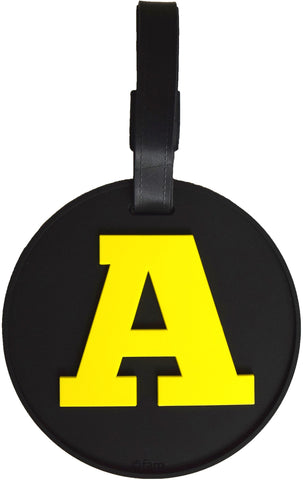 Letter A Initial 3-D Luggage Tag (pack of 6)