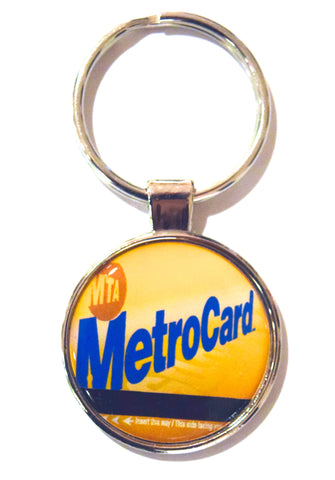 MTA MetroCard NY Dome Keychain (Pack of 12)
