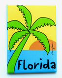 Florida Palm Tree Magnet (Pack of 12)