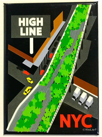 High Line Magnet (Pack of 12)