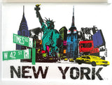 Times Square New York Magnet (Pack of 12)