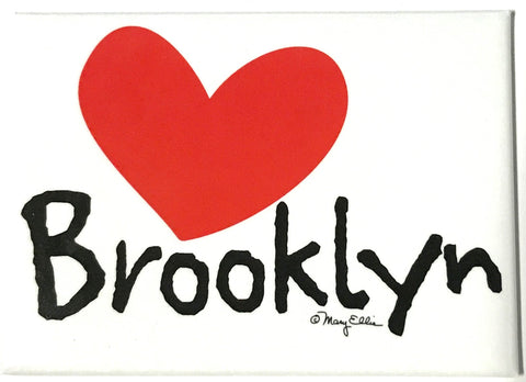 Brooklyn Heart Magnet (Pack of 12)