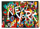 New York Graffiti Magnet
