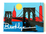 Brooklyn Bridge Skyline Magnet