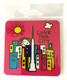 Love This City New York Coaster