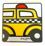New York Taxi Coaster (Pack of 6)