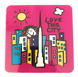 Love This City New York Coaster (Pack of 6)