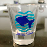 NJ Shore Fish Shot Glass