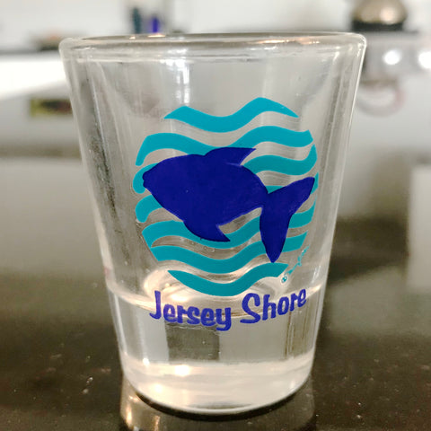 NJ Shore Fish Shot Glass (Pack of 12)