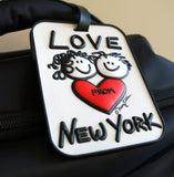 Love From NY 3-D Luggage Tag (Pack of 6)