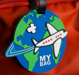 Airplane 3-D Luggage Tag (Pack of 6)
