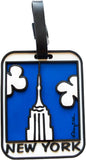 New York Empire State Building 3-D Luggage Tag (Pack of 6)