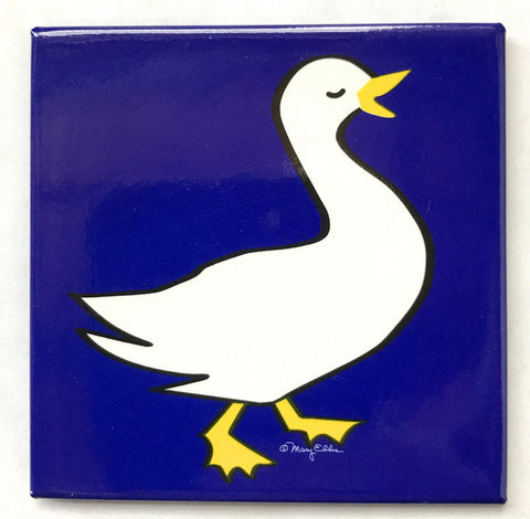 Farm Animal Duck Magnet (Pack of 12)