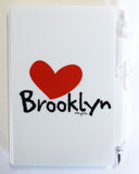 Brooklyn Heart Mini Notebook Pen Set (Pack of 6)