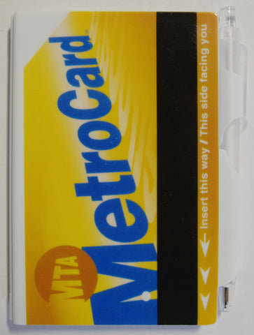 MTA MetroCard Mini Notebook Pen Set