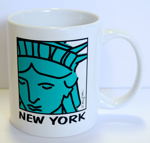 New York Statue of Liberty Face Mug (Pack of 72)