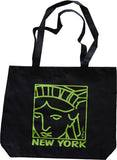 New York Tote Bag Liberty Face (pack of 6)