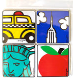 New York Icon Coaster Set of 4