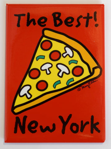 New York Best Pizza Magnet