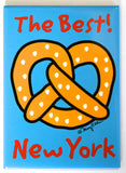 New York Best Pretzel Magnet (Pack of 12)