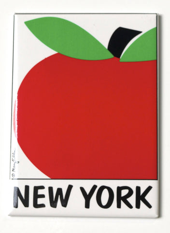 New York Big Apple Magnet
