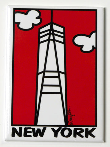 New York Freedom Tower Magnet (Pack of 12)