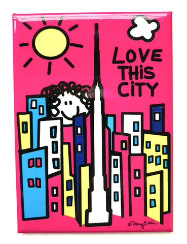 Love This City Magnet (Pack of 12)