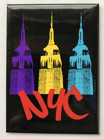 NYC Empire Colors Magnet (Pack of 12)