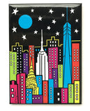New York Night Sky Magnet