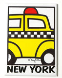 Taxi Cab Magnet (Pack of 12)