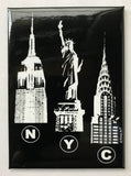 New York Tri Landmark Magnet