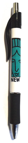 New York Statue of Liberty Face Pen (Pack of 12)