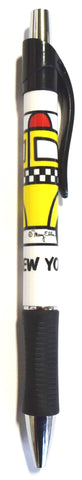 New York Taxi Cab Pen (Pack of 12)