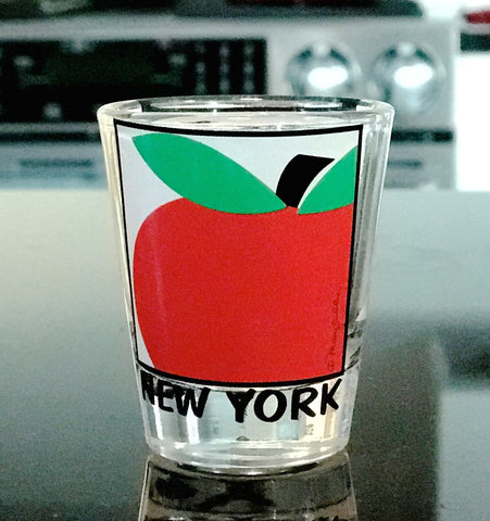 New York Big Apple Shot Glass (Pack of 12)