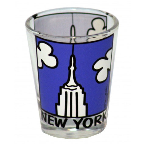 New York Empire State Building Shot Glass
