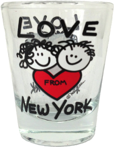 Love From New York Shot Glass