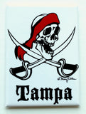 Tampa Pirate Magnet (Pack of 12)