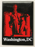 Washington DC Lincoln Magnet (Pack of 12)