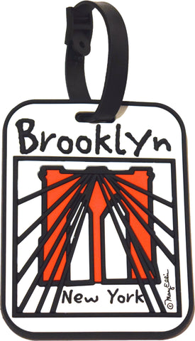 Brooklyn Cables 3-D Luggage Tag (Pack of 6)