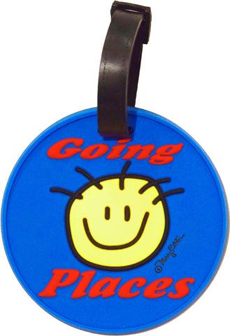Going Places 3-D Luggage Tag (Pack of 6)