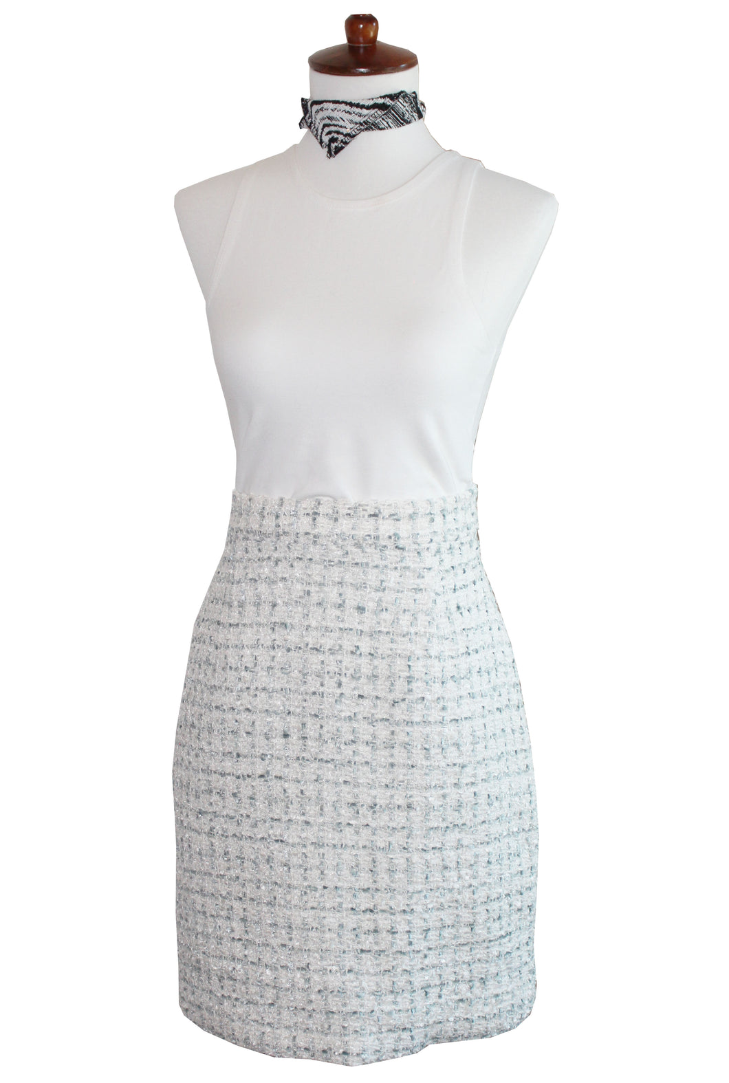 Crystal Sky Women's Pencil Skirt