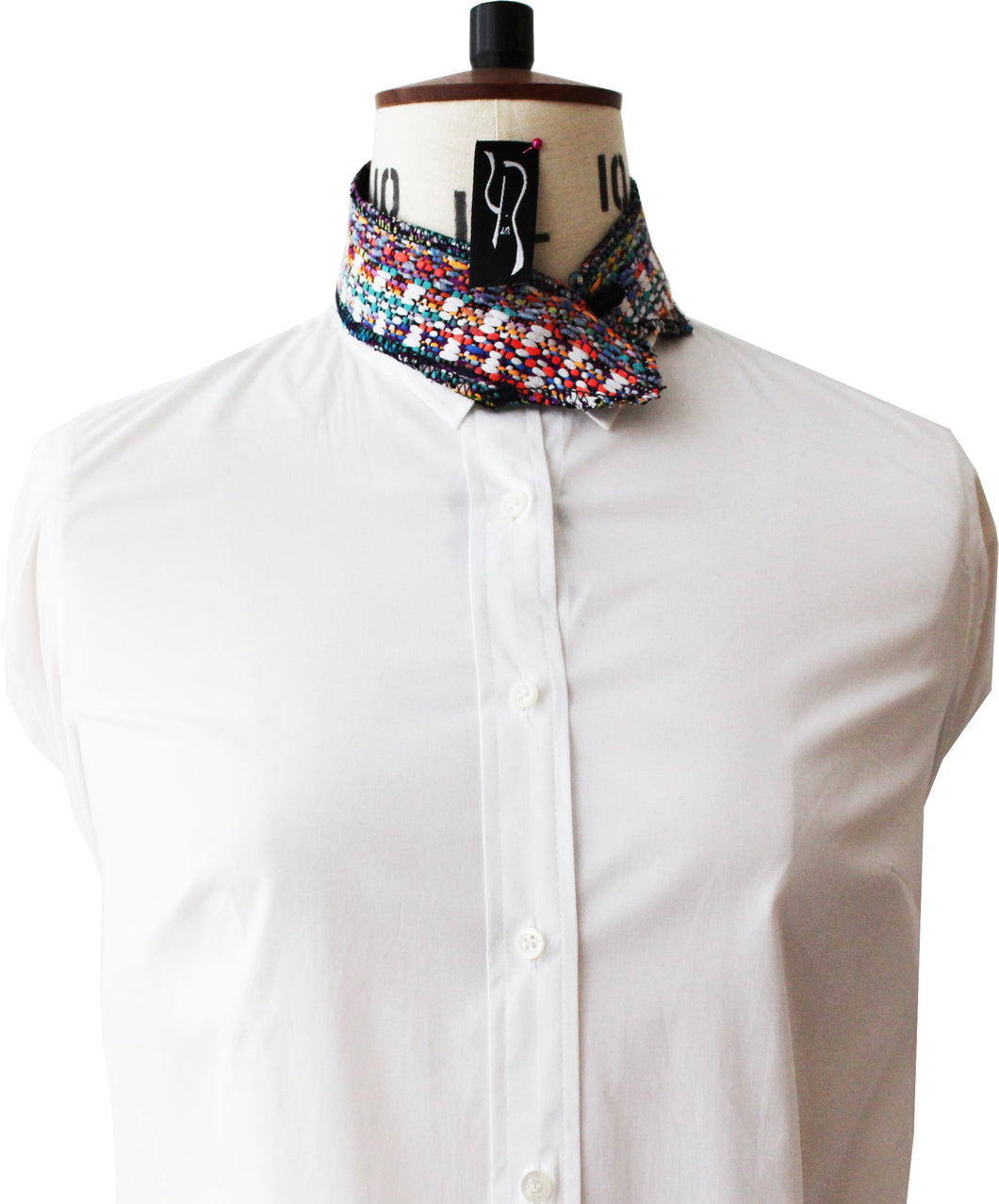Rainbow Millefeuille Collar