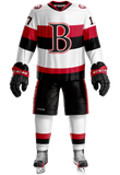 Belleville Sens Inaugural Jersey White