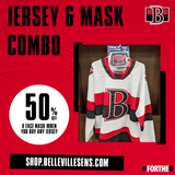 NEW Red Belleville Sens Jersey