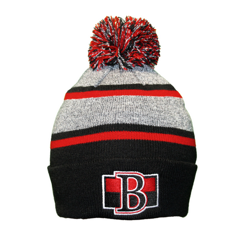Senators Toque With Pom