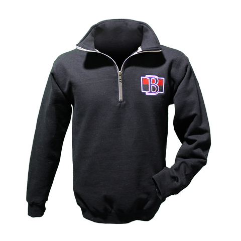 Senators Primary Logo Fleece 1/4 Zip