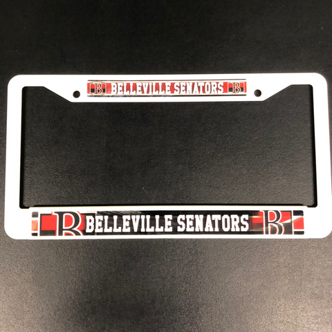 Belleville Sens License Plate Cover