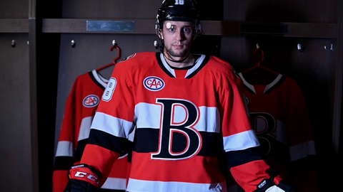 NEW Red Belleville Sens Youth Jersey