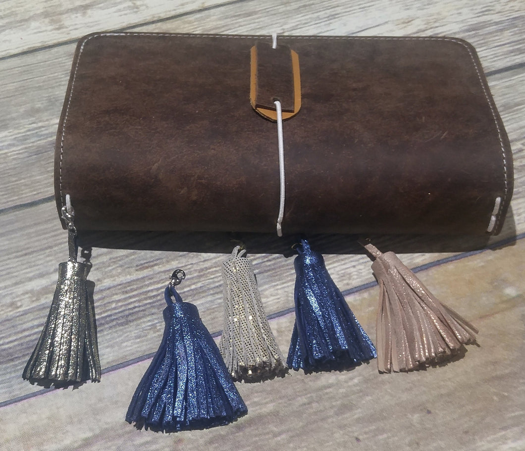 Accessory Leather Tassle Charm