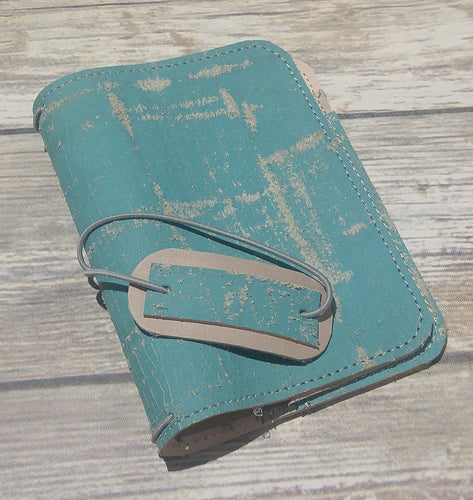 Kamino Ready to Ship Tarsius [pocket] size leather traveler's notebook